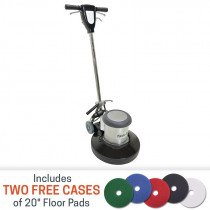 Floor Polishing Machine by Task-Pro with pads